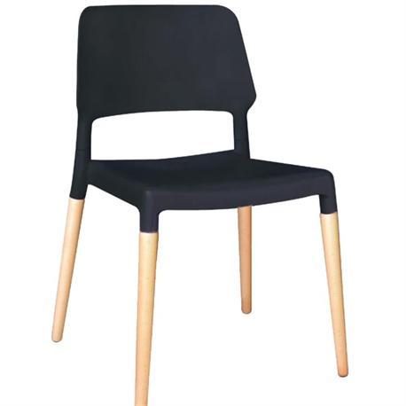 Καρέκλα μαύρο ΡΡ