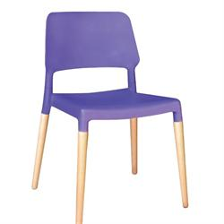 Chair purple PP