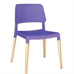 Chair purple PP