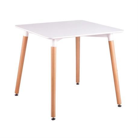 Τραπέζι MDF λευκό 80x80 εκ