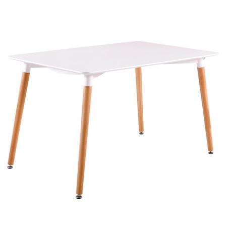 Τραπέζι MDF λευκό 120x80 εκ