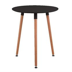 Table MDF black 60 cm