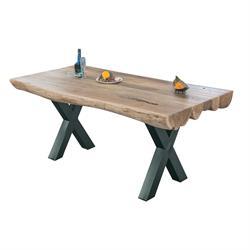 Τραπέζι Ακακία Φυσικό 200Χ95 - X -