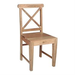 CHAIR Acacia Natural 50X46