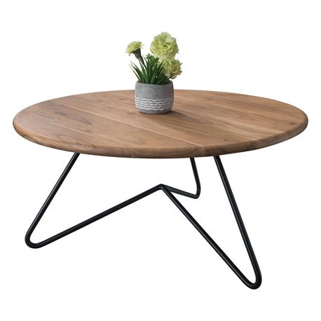 Coffee table natural Φ83