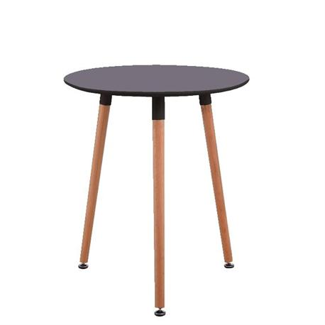 Τραπέζι MDF γκρι Φ60 εκ
