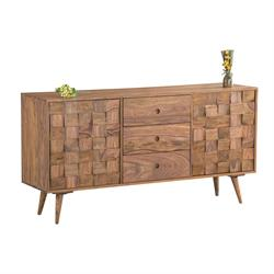 Buffet acacia natural 145Χ40