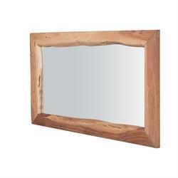 Mirror acacia natural 140X80