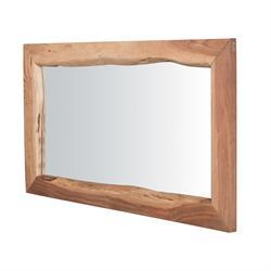 Mirror acacia natural 100X70
