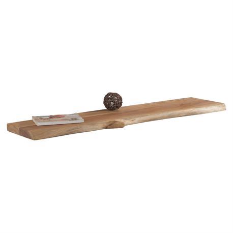 Shelf acacia natural 115X25