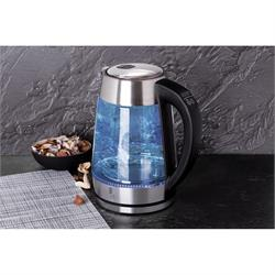 Kettle with Temperature Silver
