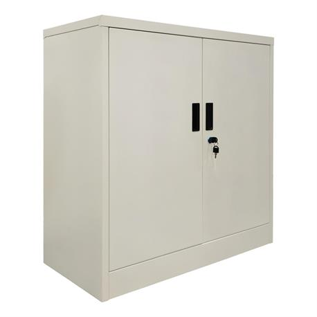 Cabinet with 2 shelves White