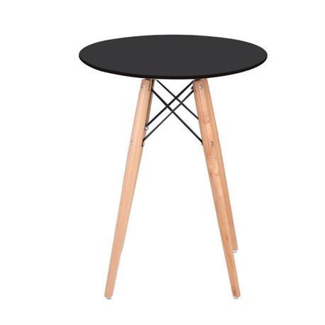 Table MDF black Φ60 cm
