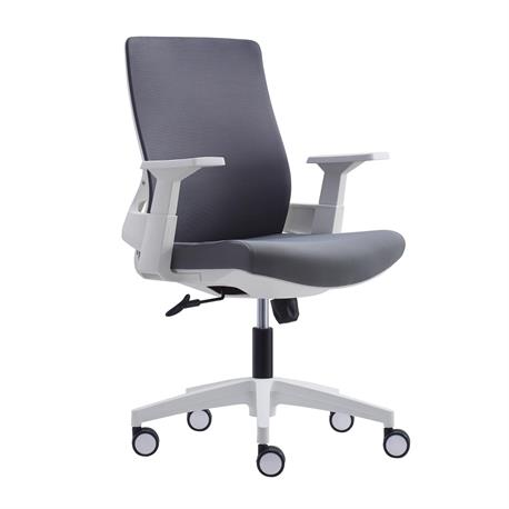 Office chair white grey