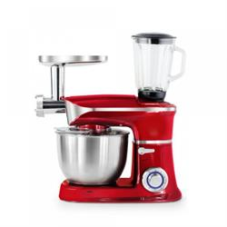 3-in-1 food processor Red 1900W
