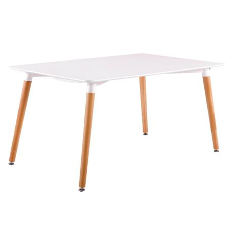 Table MDFwhite 160x90 cm