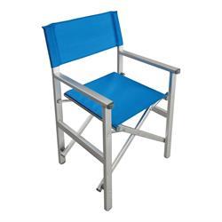 Πολυθρόνα Σκηνοθέτη Αλουμινίου Μπλε (2,75kg)