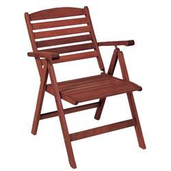 Low Back Armchair 5 Seats Red Shorea