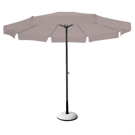 Aluminium umbrella beige