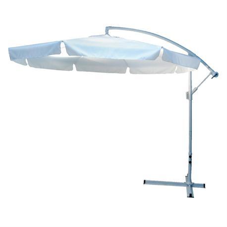 Ομπρέλα κρεμαστή λευκή