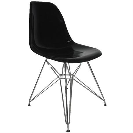 Καρέκλα μαύρο ABS