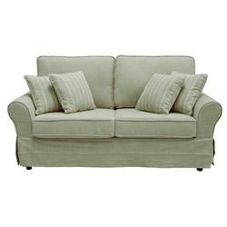 Καναπές-κρεβάτι ύφασμα μπεζ