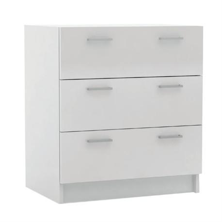 Συρταριέρα 3σ. Άσπρη