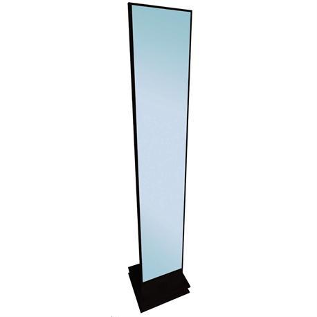 Floor mirror MDF black