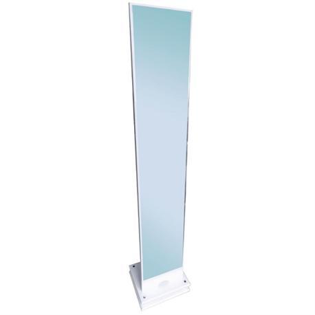 Floor mirror MDF white
