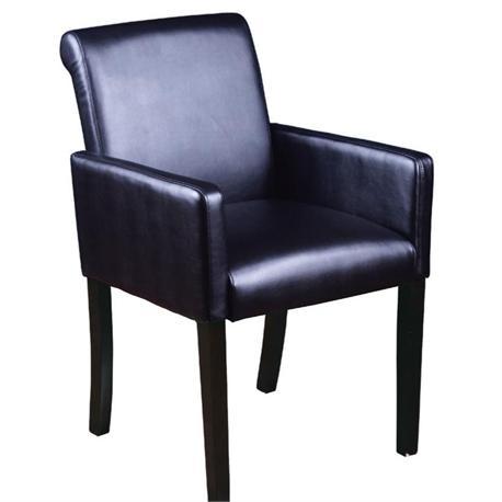 Πολυθρόνα μαύρο PU