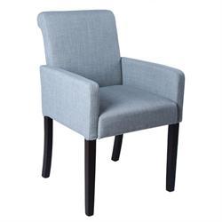 Armchair fabric grey
