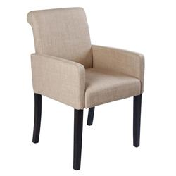 Armchair fabric beige