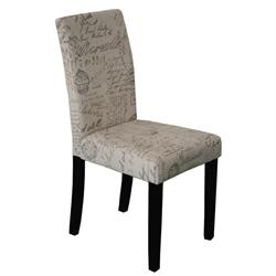Chair fabric deco ecru