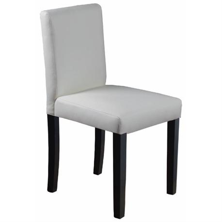 Chair promo ivory PVC