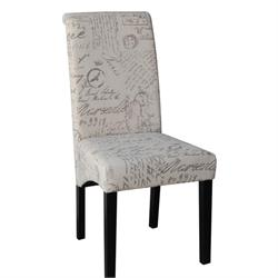 Chair fabric deco ecru