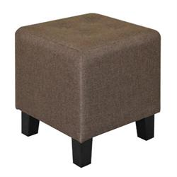 Stool fabric dark brown