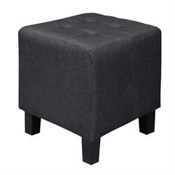 Stool fabric black