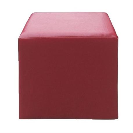 Stool red PU
