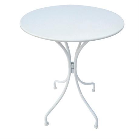 Τραπέζι άσπρο στρογγυλό