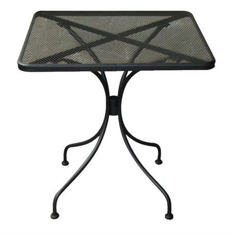 Table square-mesh black