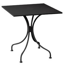 Τραπέζι τετράγωνο μαύρο