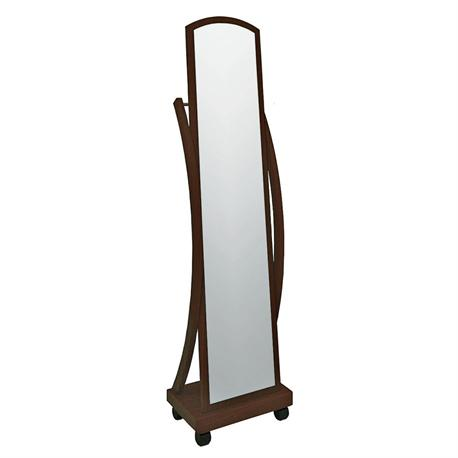 Floor mirror walnut