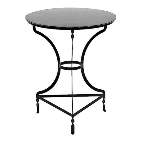 Table black 50Χ70cm