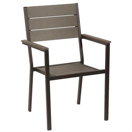 Πoλυθρόνα γαλβανισμένη στοιβαζόμενη Pollywood