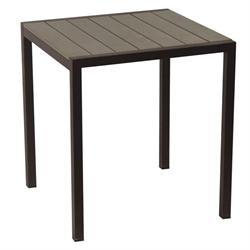 Τραπέζι τετράγωνο Pollywood 70Χ70 εκ