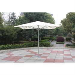 Ομπρέλα αλουμινίου τετράγωνη αυτόματη 300Χ300 εκ