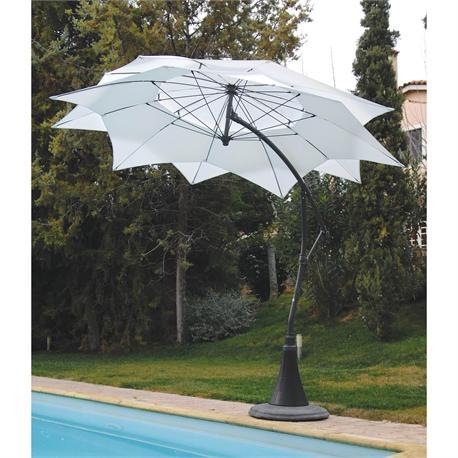 Round aluminium automatic umbrella Ø300 cm Rotation(360'')