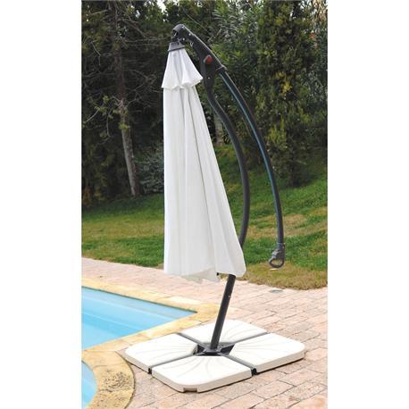 Round aluminium umbrella Ø300 cm