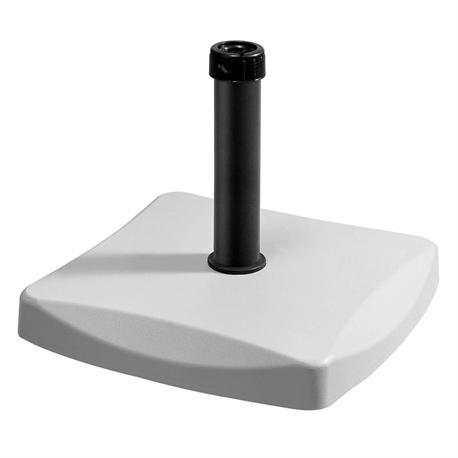Πλάστικη βάση άσπρο 50Χ50 εκ 25 kgr