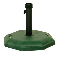 Octagon base Ø50 cm Green 27 kgr